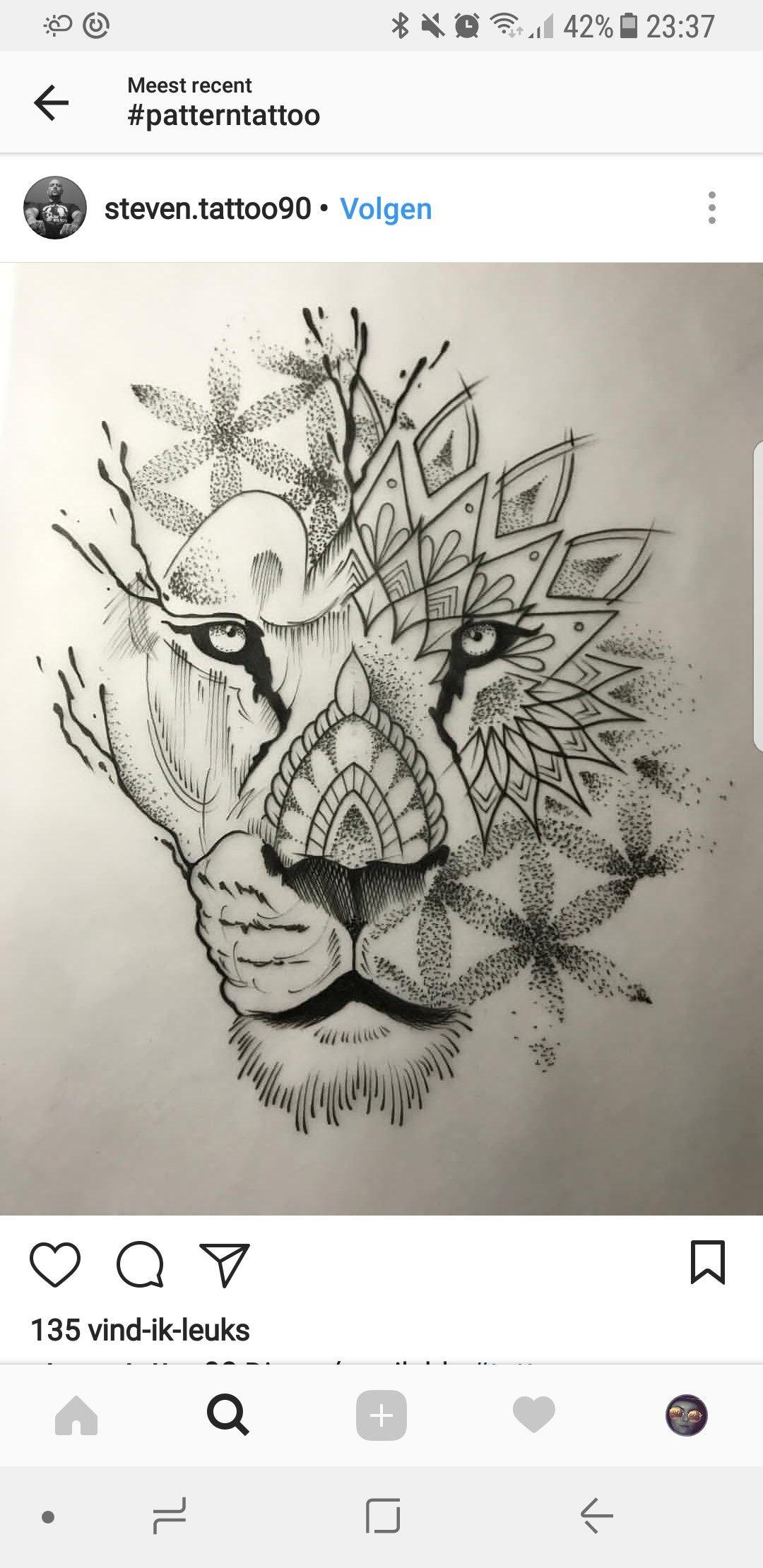 Like The Flowers And Mandala Tatoo Tatuagem Desenho