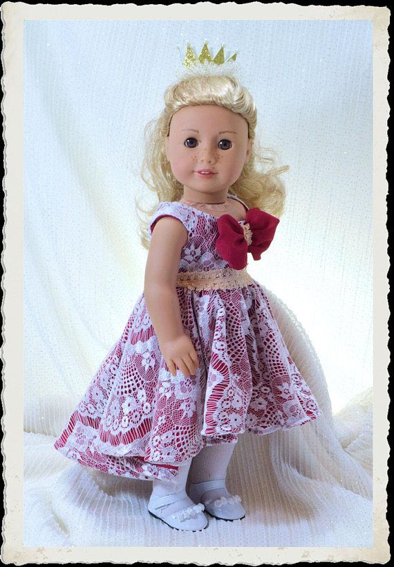 18 inch doll clothes pattern, American girl doll clothes pattern ...