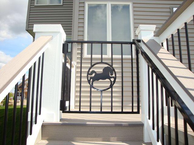 Deck Gate  Maple GRove MN