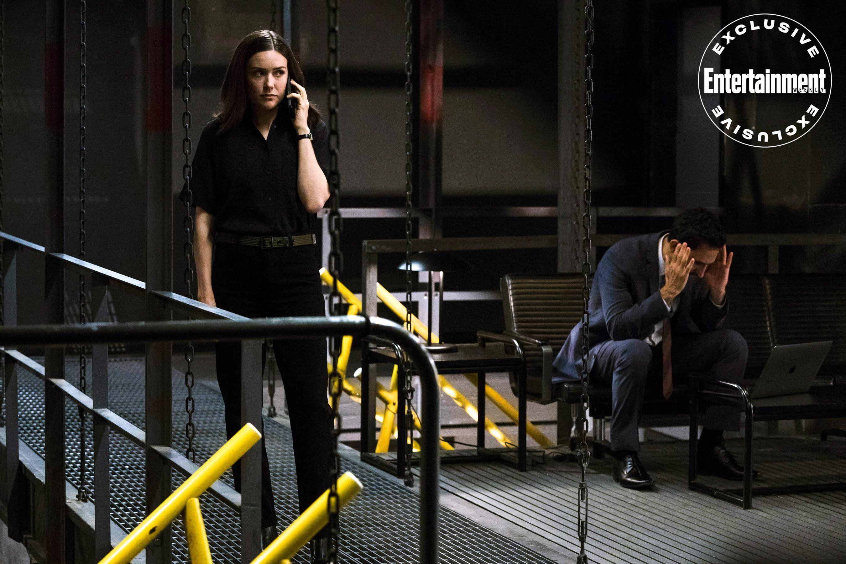 Exclusive Reddington Is Katarina S Captive In First Blacklist Season 7 Photos