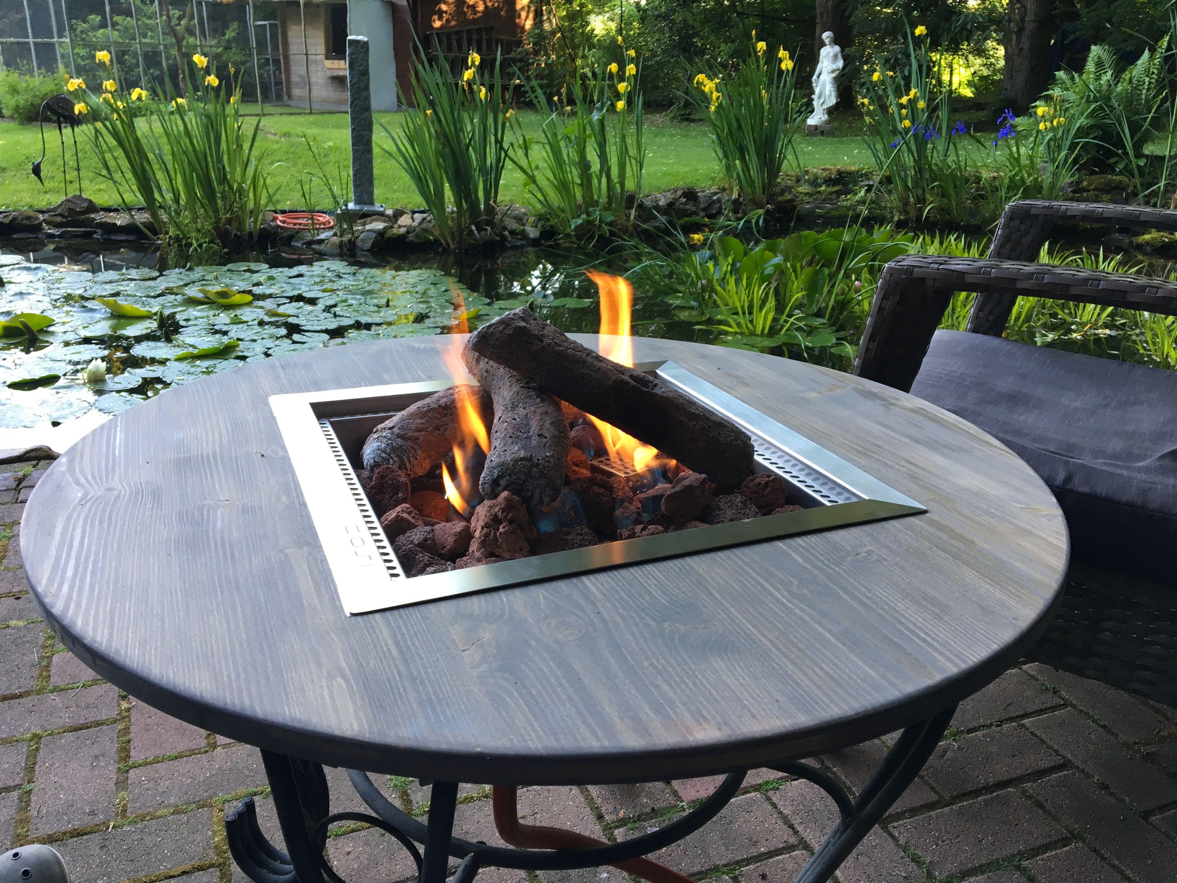 Feuertisch Eigenbau Gasfeuertisch Firetable Feuertisch Gasfeuer Selber Bauen
