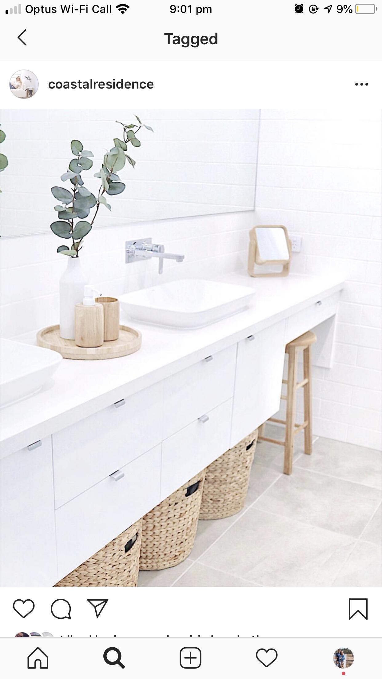 Pin By Thuy Bui On Dream List Scandi Bathroom Modern Bathroom Vanity Laundry In Bathroom