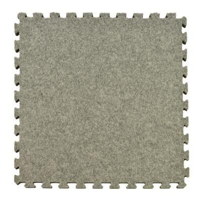 Greatmats Royal Light Gray Carpet Velour Plush 10 Ft X 10 Ft X 5