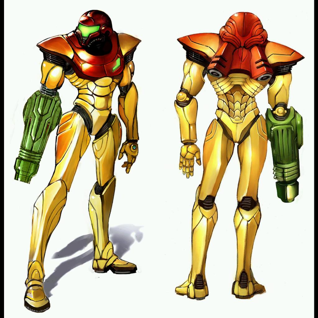 Power Suit Metroid Samus Aran Metroid Samus