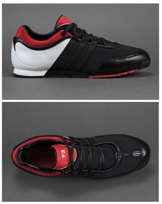 bd984029152 adidas Y-3 Boxing  Black Red White