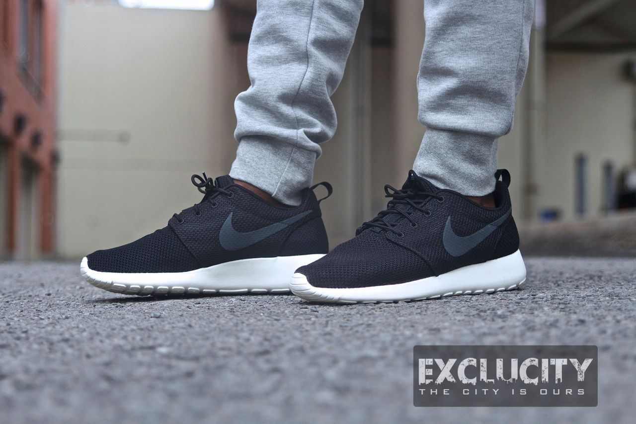 nike roshe run black on feet  Google Search  Running SneakersShoes