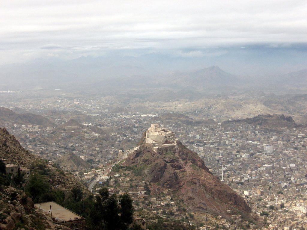 Taizz Fort Yemen Mountain Top Castles Pinterest Cairo Forts
