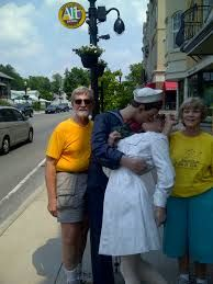 Image result for posing with statues carmel
