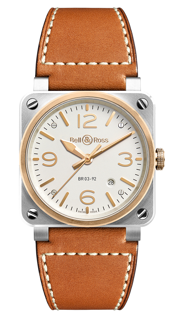 Br 03 92 Steel Rose Gold Bell Ross Luxury Watches For Men Watches For Men