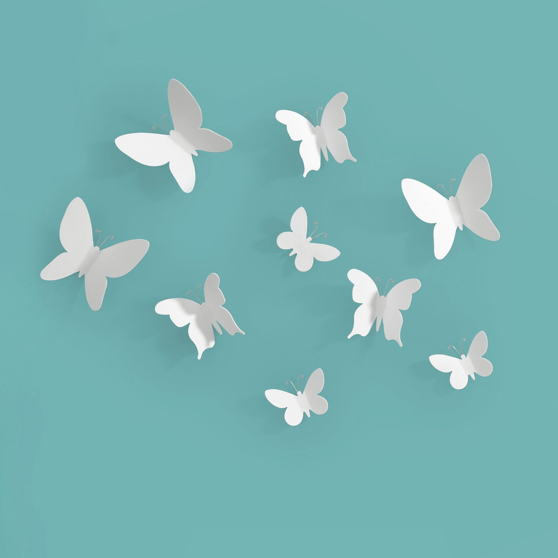 Umbra Mariposa Wall Decor Set Of 9