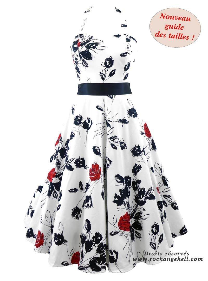 840689477c Robe Rockabilly Pin-Up Années 50 HR London | haine | Rockabilly pin ...