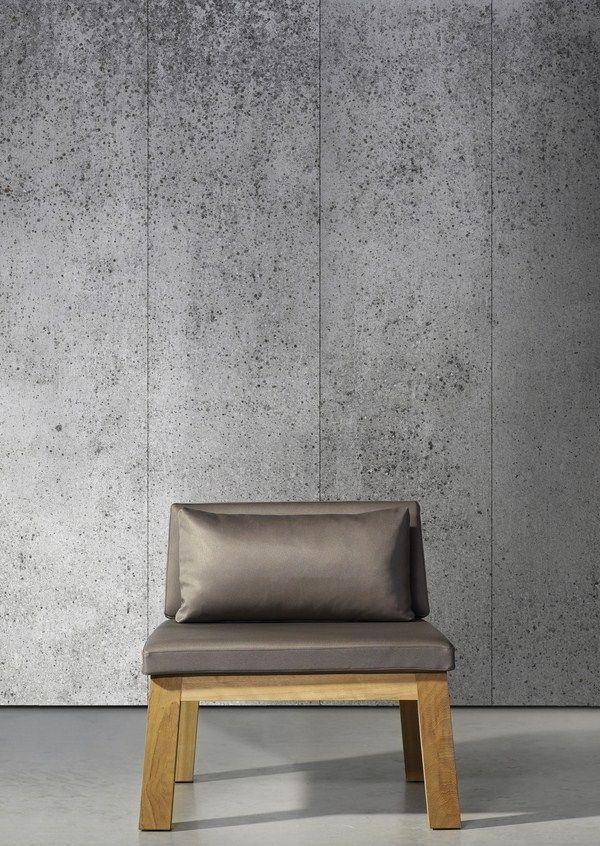 Concrete wallpaper Faux Finishes and Floors, Wallpaper Pinterest - paredes de cemento