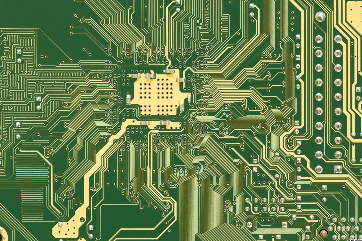 Circuit Board Wallpaper 756624