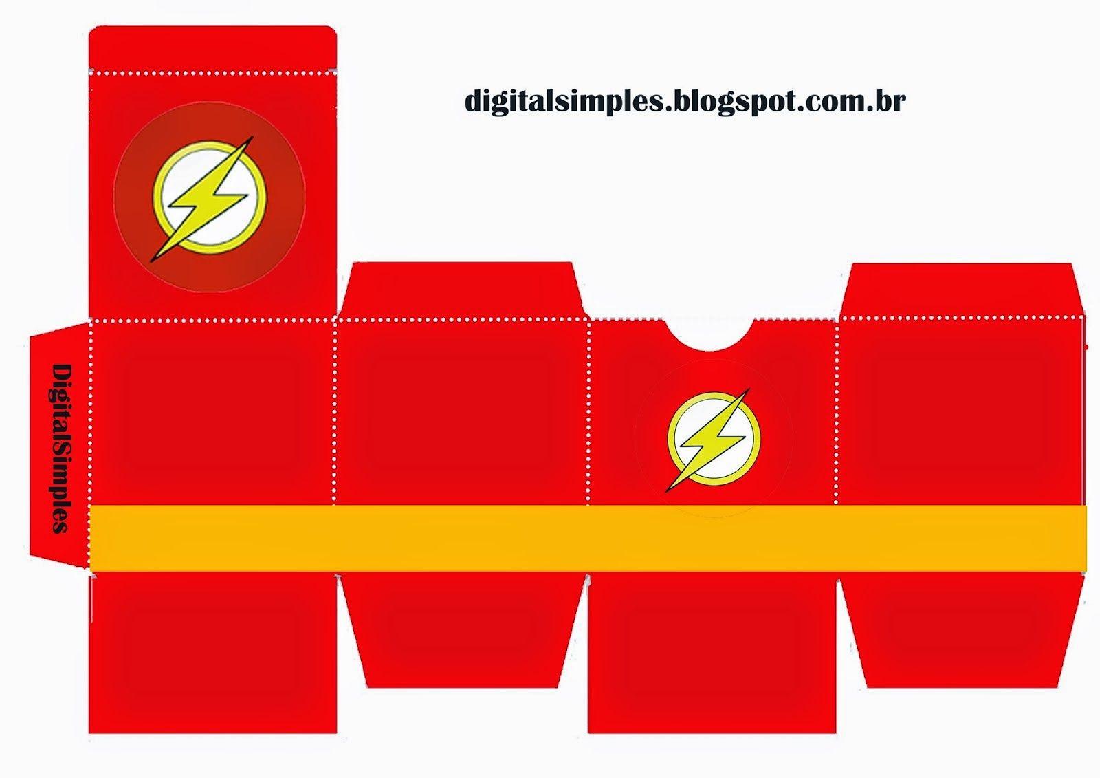 cajas cubo de super héroes para imprimir gratis festa super