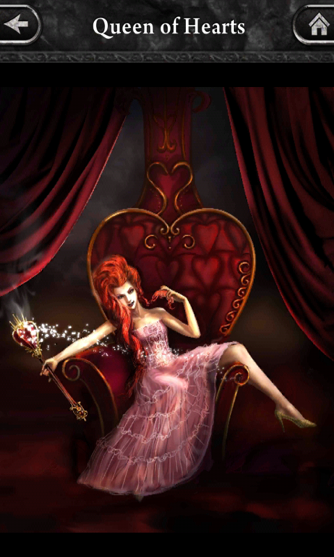 Queen of Hearts Evolve Stage 1