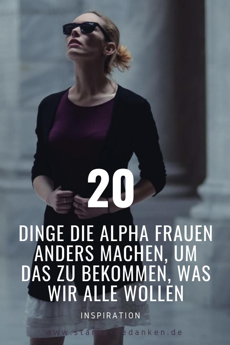 Alpha-Frauen-Dating-Tipps
