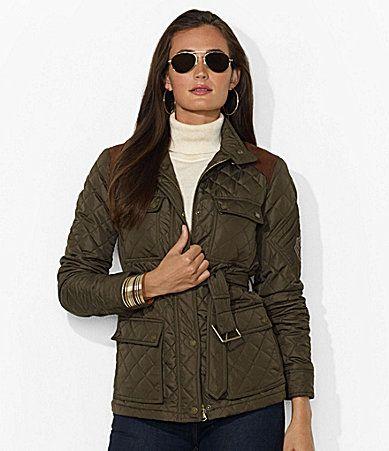 Lauren Ralph Lauren Quilted Monza Jacket Dillards God