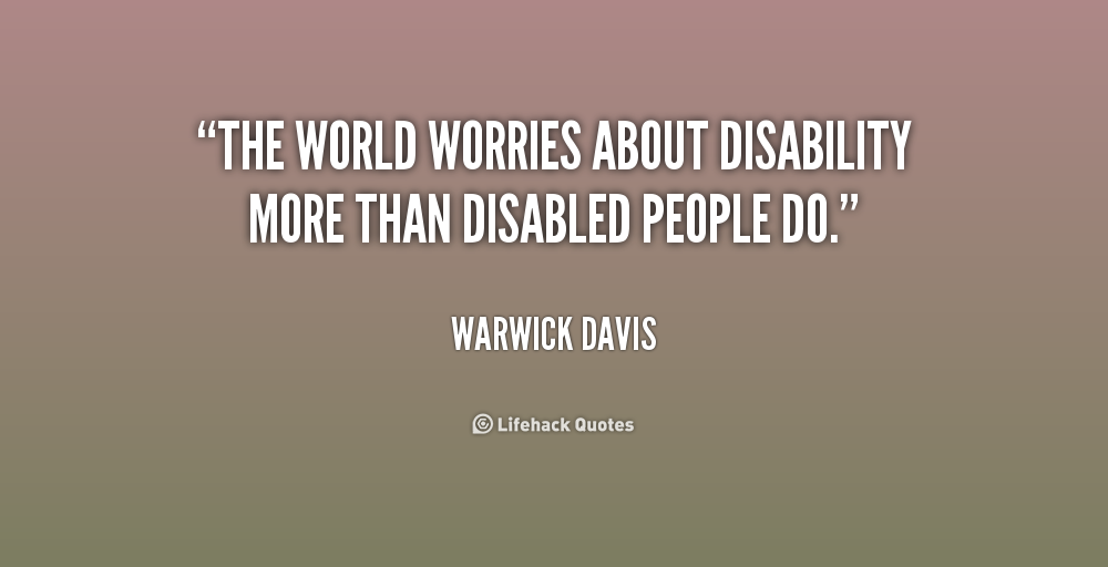 Inspirational Quotes About Disability - For valuable tips about ...