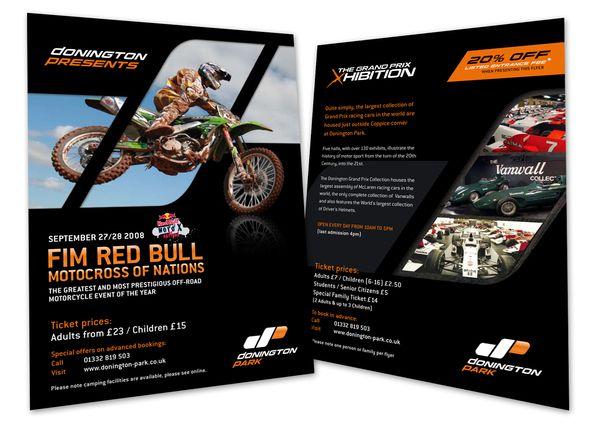 Donington Park Race Course - Leaflet