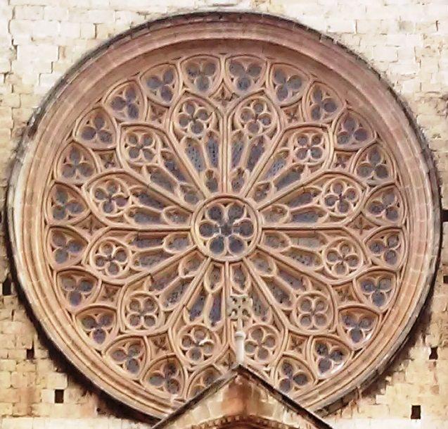 Rosassa Del Monestir De Sant Cugat Sant Cugat Del Vallès Vallès Occidental Catalunya Monasterios Fotos Rosetones