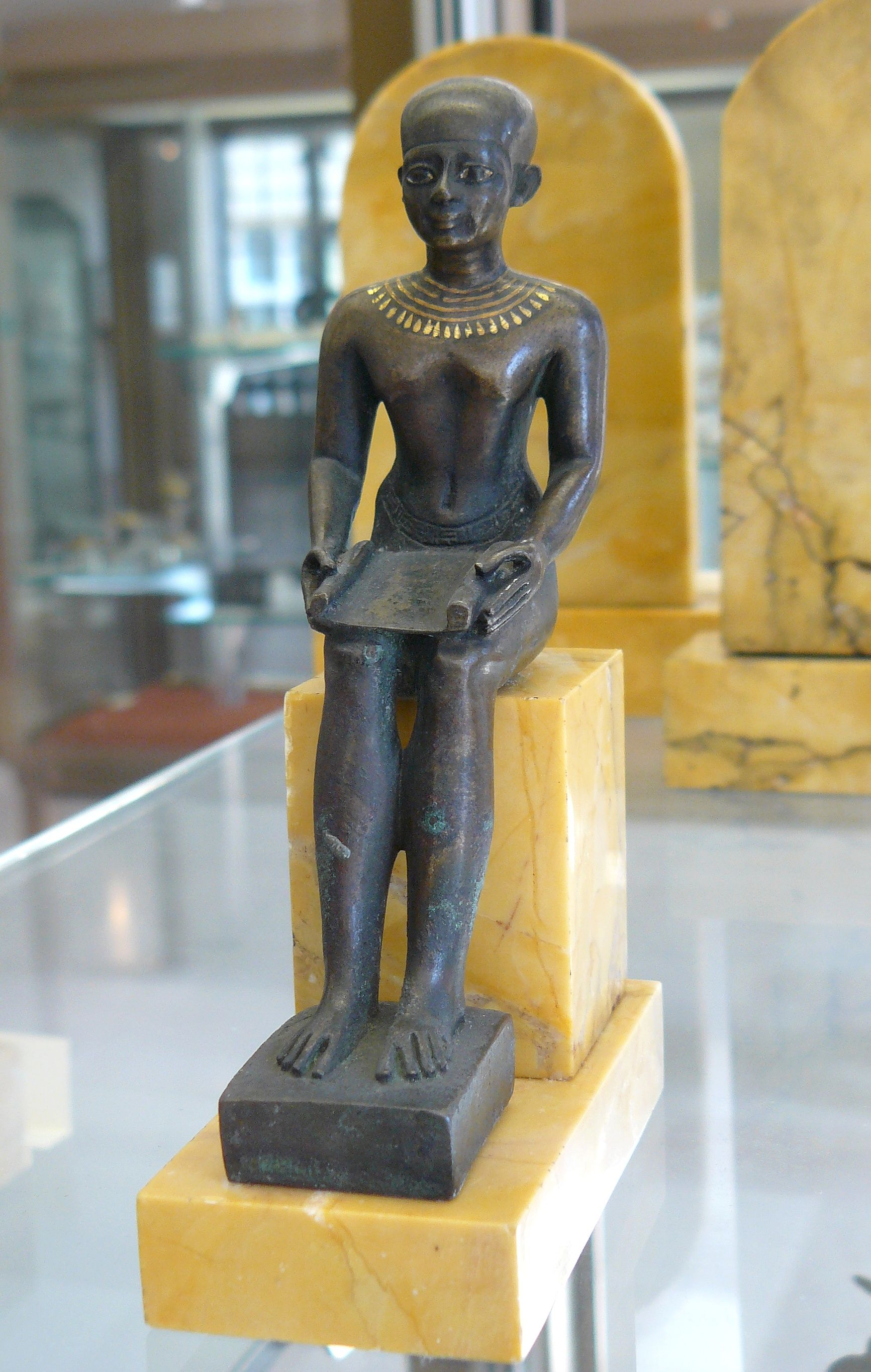 Imhotep the father of medicine and egyptian multi genius for Imhotep architecte