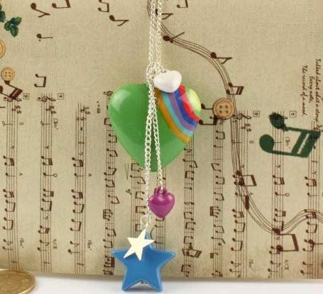Fashion Sweet Peach Star Necklaces