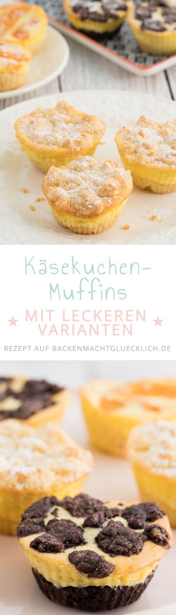 Käsekuchen-Muffins | Rezept | Käsekuchen muffins, Zupfkuchen und ...