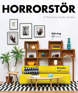 Book Review of HORRORSTOR A perfect Halloween read! This haunted, Swedish-imposter superstore will make you terrified of IKEA forever.