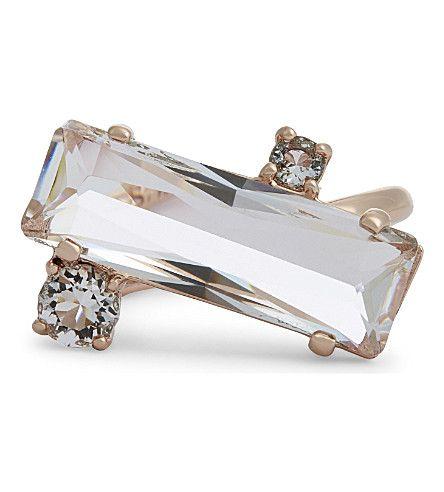 TED BAKER Brijit Crystal Baguette Ring. #tedbaker #rings