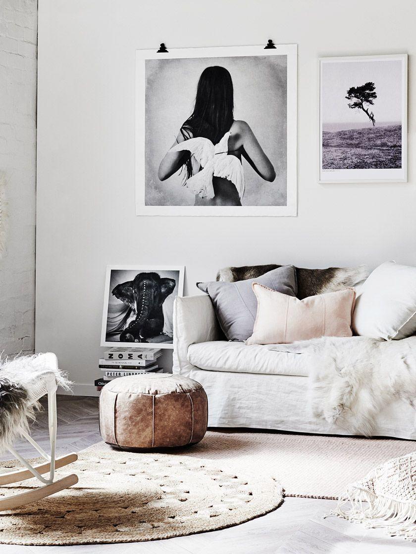 Come decorare un muro bianco parete vuota - Decorare un muro ...
