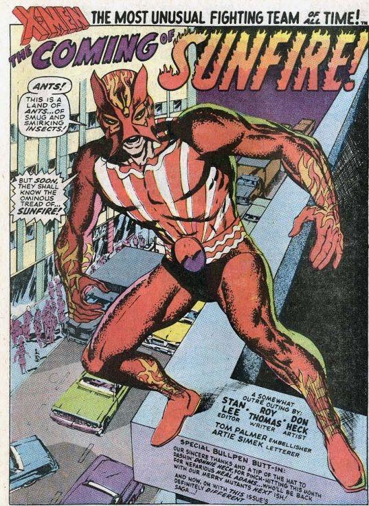 Uncanny X Men 64 X Men Superhero Comic Tom Palmer