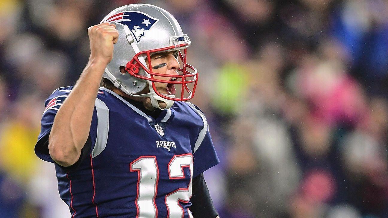 New England Patriots Qb Tom Brady Reaffirms Plan To Play Beyond 2019 Espn New England Patriots Qb Tom Patriots Qb Patriots Quarterbacks New England Patriots