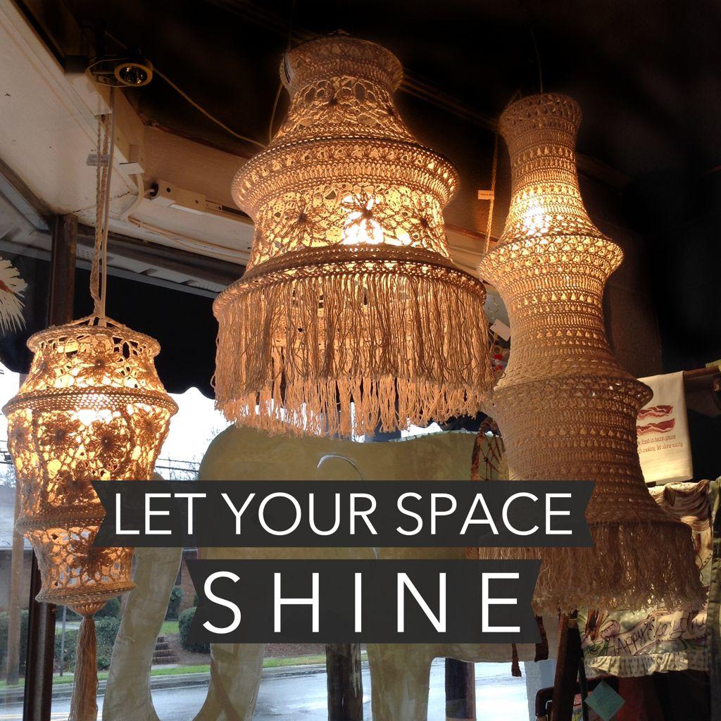 Love These Macrame Lanterns Www Artandsoulnc Com