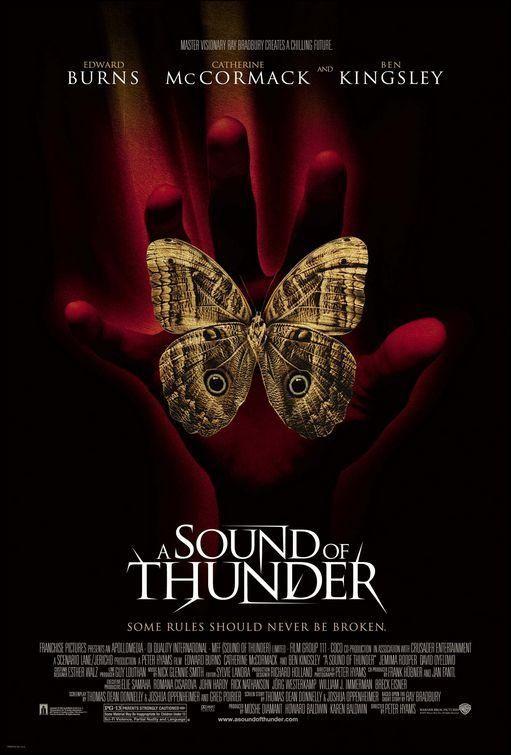 A Sound Of Thunder Uk Peter Hyams 2005 Peliculas Cine Peliculas Truenos