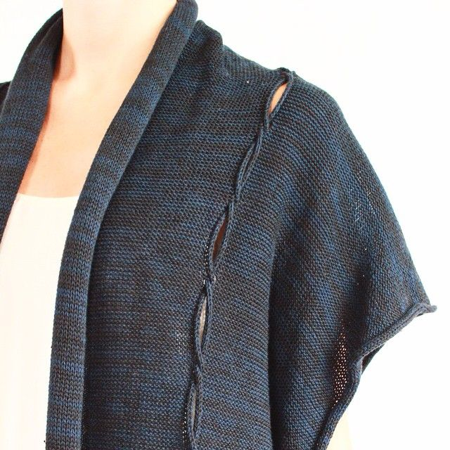 Front detail twist cable vest. #lillianjacksontextiles #textiles #knitwear #machineknitting #slowfashion #sustainablefashion #organiccotton #merino