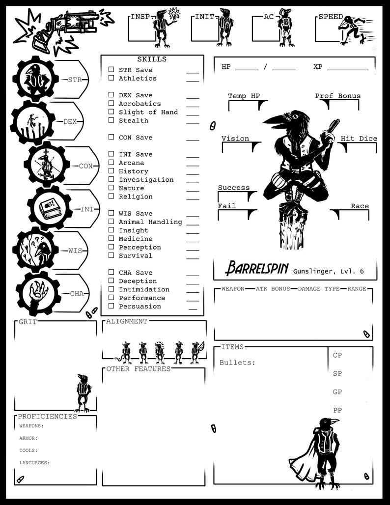 image about Starfinder Character Sheet Printable titled Personalized Individuality Sheet DD Pathfinder Starfinder