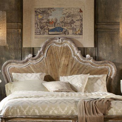 One Allium Way Roundup King Panel Headboard