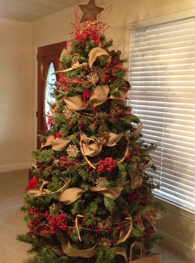 deer antler christmas tree topper google search how to decorate a tree pinterest tree. Black Bedroom Furniture Sets. Home Design Ideas