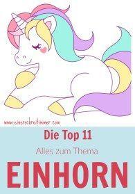 Die Top 11 Diys Zum Thema Einhorn Geburtstag Einhorn Einhorn