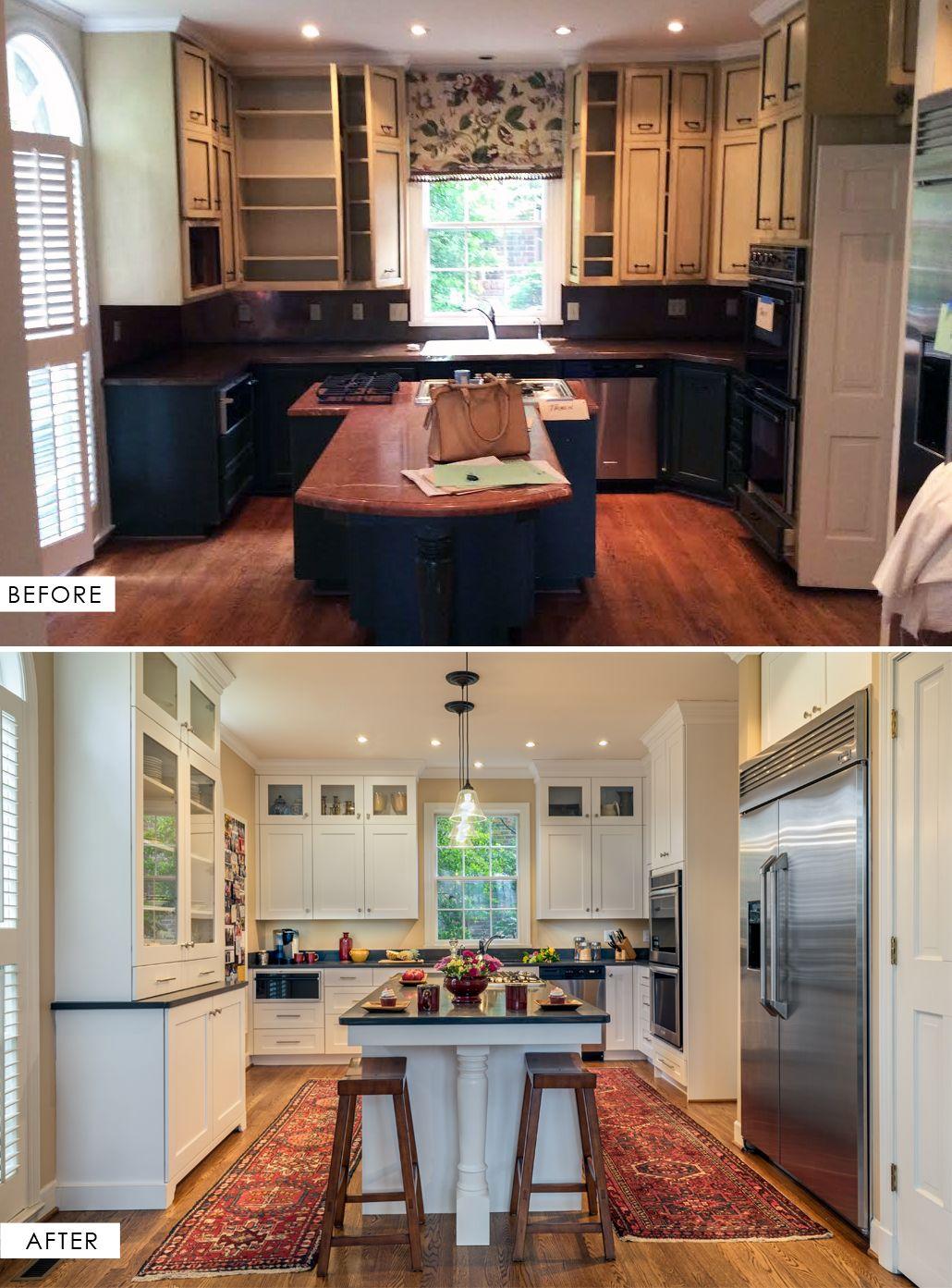 Before After West End Kitchen Hermitage Kitchen Design