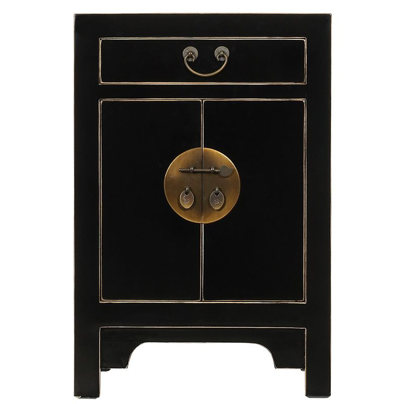 Small Black Chinese Style Storage Cabinet | Ideas for the ...