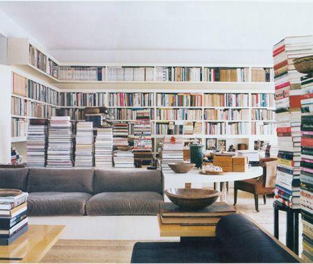 Stunning Bookshelves. Love BookshelfWall ... - Stunning Bookshelves Bookcase Wall And Books