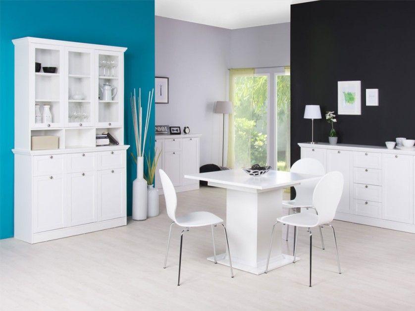 Vetrina moderna Belize, credenza bianca di design,mobile soggiorno ...