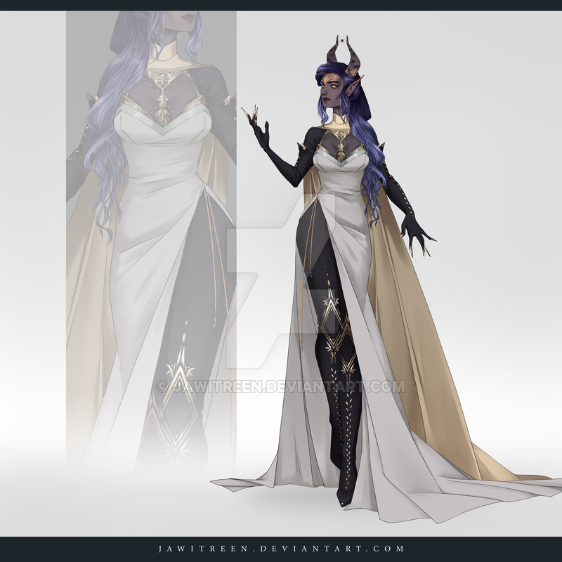 Closed Adoptable Outfit Auction 308 By Https Www Deviantart Com Jawitreen On Deviantart Anime Dress Costume Design Fantasy Clothing