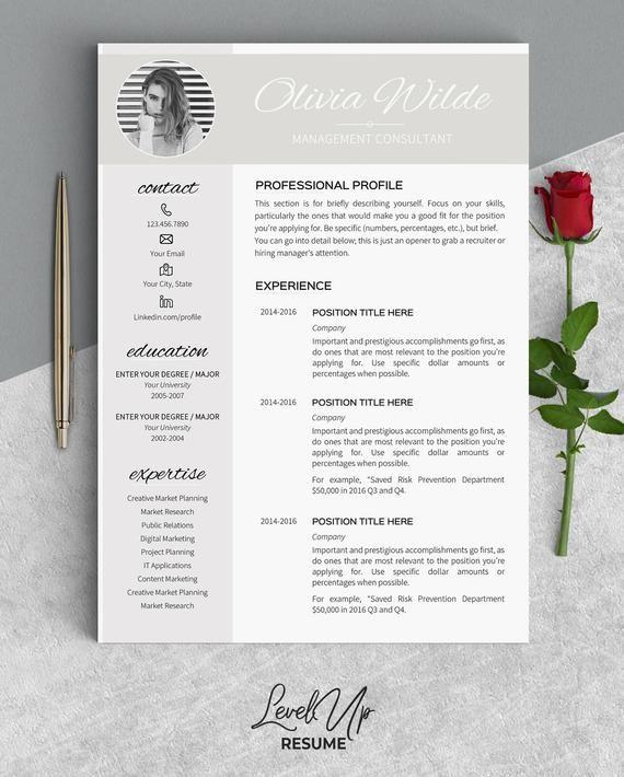 Resume Template Instant Download Modern Resume Cv Template Professional Resume Creative Feminine Resume Templates Word Curriculum Vitae Ow Modele Cv Curriculum Vitae Cv Template Professional