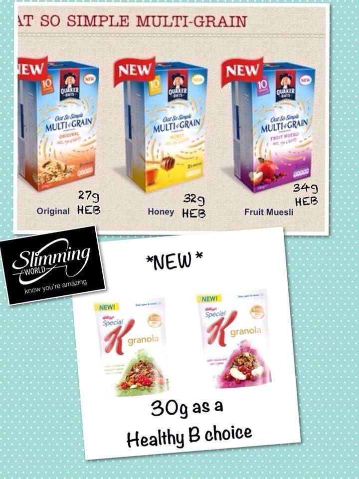 New Oat So Simple Healthy Extra B Choice :)
