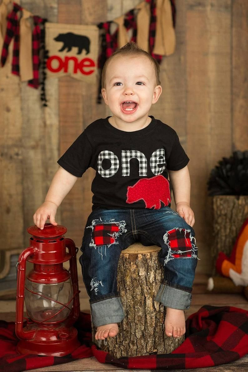 Perfect for your lumberjack party!! We all want our little