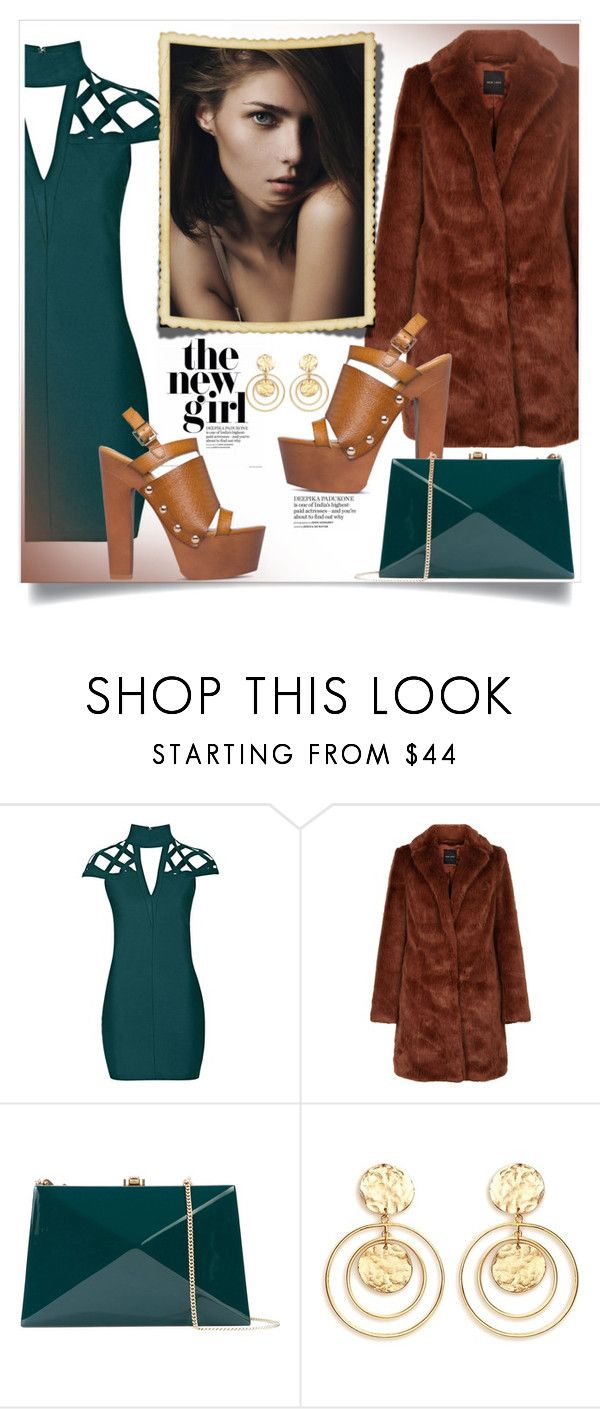 """""""like a diamond"""" by omniaasaad ❤ liked on Polyvore featuring Rare London, DUO, Rocio and Kenneth Jay Lane"""