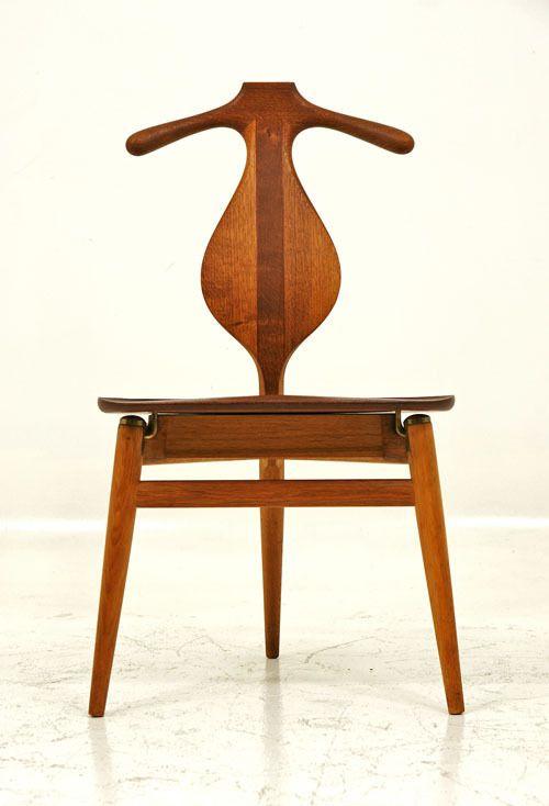 Hans Wegner Valet Chair Hang Your Coat On The Back Valet Chair