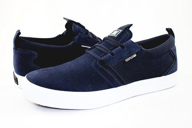 new styles 0a2a0 24217 SUPRA Flow 系列男鞋-海軍藍  SUPRA   Yahoo!奇摩購物中心